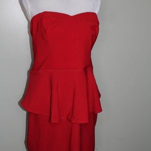 Charlotte Russe red dress SZ 1X